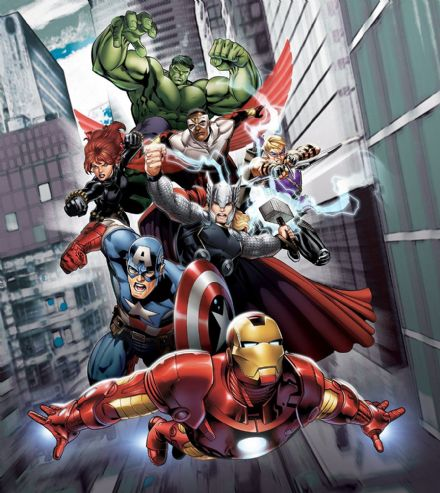 "Paper wallpapers ""Avengers Marvel"""